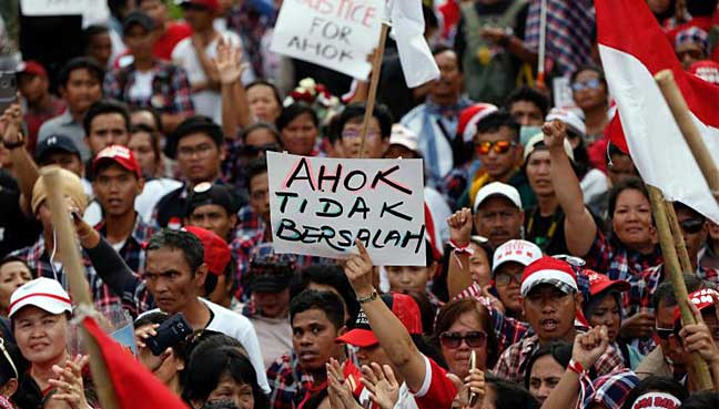 Christian governor sentenced to jail for insulting Islam in Indonesia