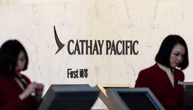 Cathay Pacific Airways to cut around 600 staff
