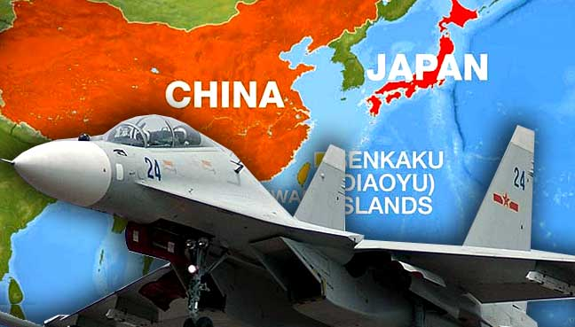 Chinese jets intercept U.S plane over East China Sea