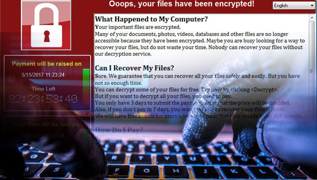 Microsoft warns ransomware cyber-attack is a wake-up call