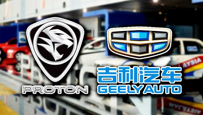 Geely to buy controlling stake in Proton…