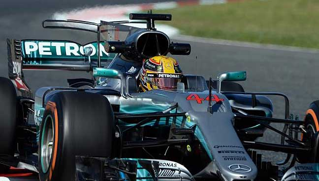 F1 round-up: Hamilton beats Vettel in thrilling duel in Spain