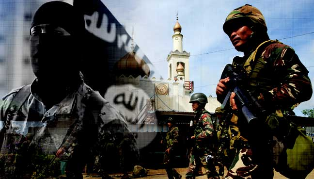 Foreign fighters among militants in Philippines