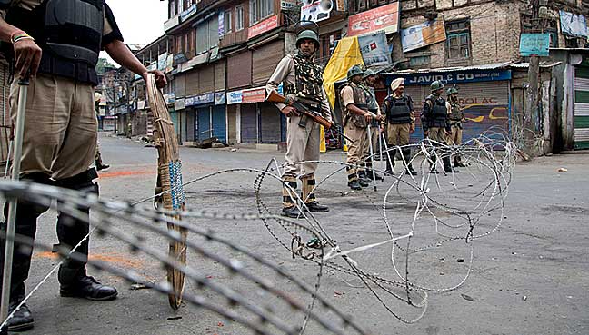India imposes security lockdown in Kashmir to stop protests