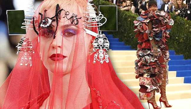 Lady Gaga Tweets Rihanna Best Dressed at the Met Gala 2017