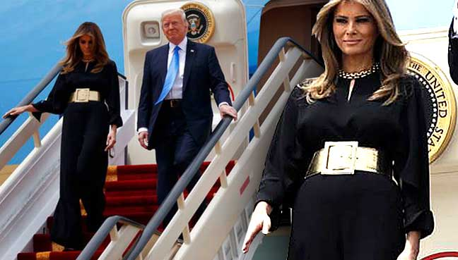 What Melania Trump Wore: First Ladys Saudi Style A Big Deal
