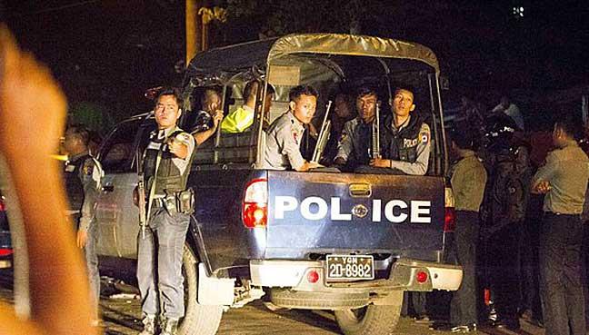 myanmar-police