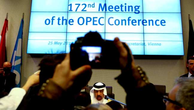 OPEC, Non-OPEC oil producers extend oil output cut by 9 months