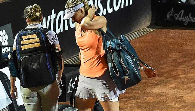 Sharapova denied wild card for French Open