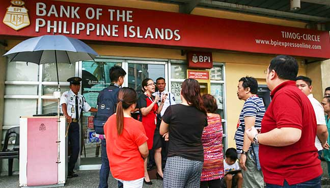 Philippine Bank Chaos After Unauthorised Transactions