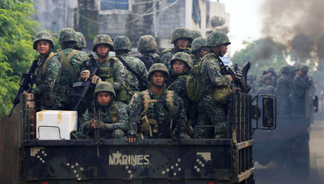 Philippine marines killed in fighting with militants