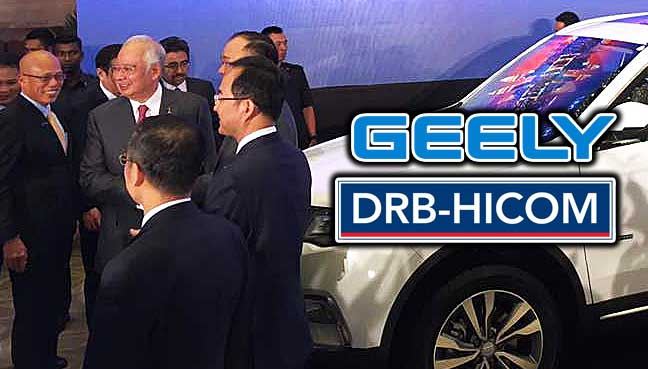 Geely signs final contract with DRB-Hicom