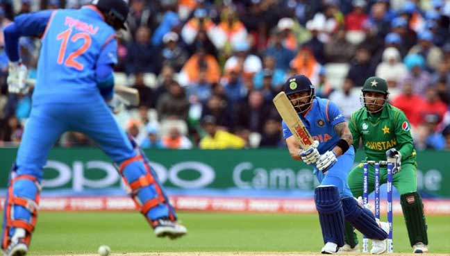 Virat Kohli marks India after Champions Trophy win over Pakistan