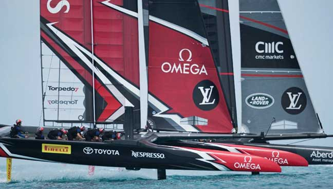 Sailing-France eliminated from America's Cup after loss to New Zealand