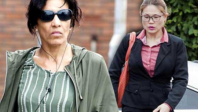 Maxine Williams yang mabuk selama 10 jam dalam penerbangan ke London itu, turut melemparkan kata-kata bersifat perkauman, dan bertindak cuba menyerang pramugari Malaysia Airlines, Teoh Ming Lee (kanan).
