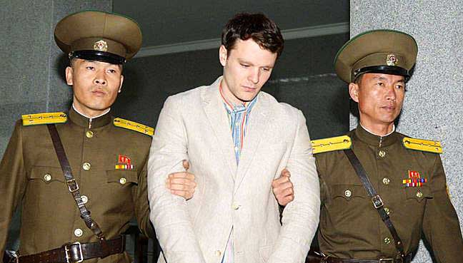 North Korean media says Otto Warmbier released on