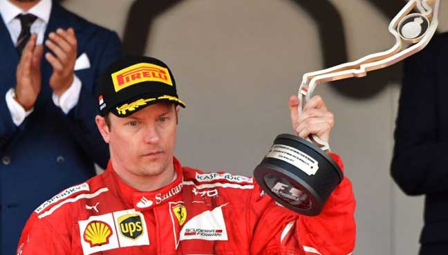 Kimi Raikkonen fastest in 2nd practice at Canadian GP