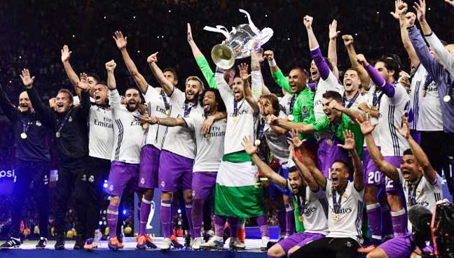 Zidane joy as Madrid reign supreme