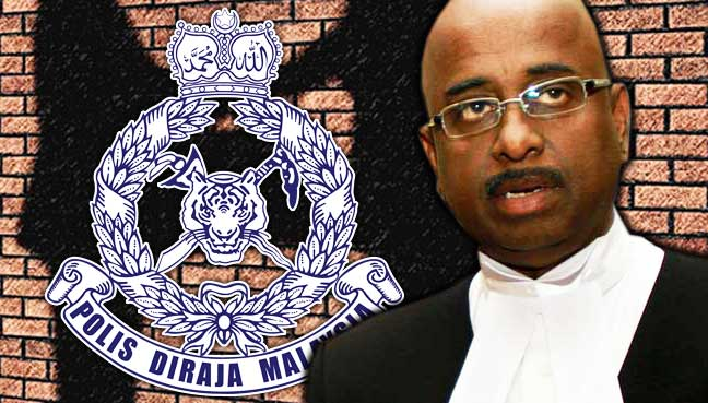 S-N-Nair-police Lawyer: Police duty bound to probe RM9.5 million bank transfer