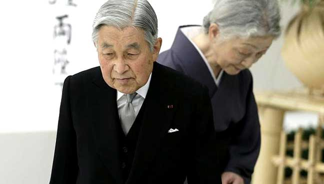 Japan's Parliament passes law to allow Emperor Akihito's abdication