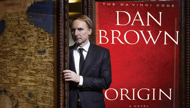 Image result for dan brown origin