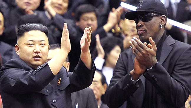 Former NBAer Dennis Rodman Visiting North Korea Again