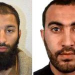 Khuram Shazad Butt (left) and Rachid Redouane. Metropolitan Police, Handout via REUTERS