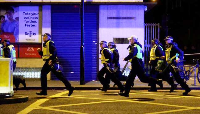 Too early to say if London incidents are militant attack