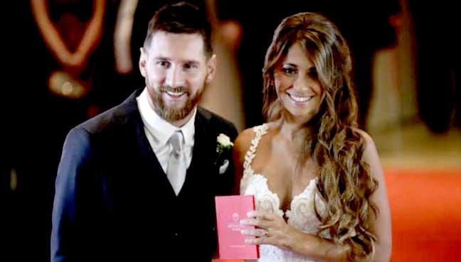 Argentine soccer player Lionel Messi to marry Antonella Roccuzzo