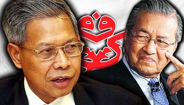 Mustapa-Mohamed-mahathir-umno-bendera-malaysia