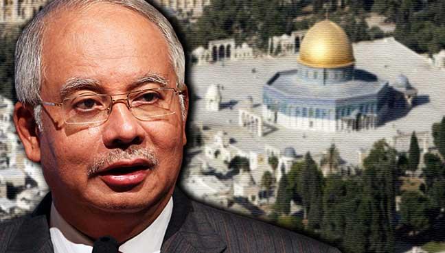 Najib-Razak-Masjid-Al-Aqsa-israel