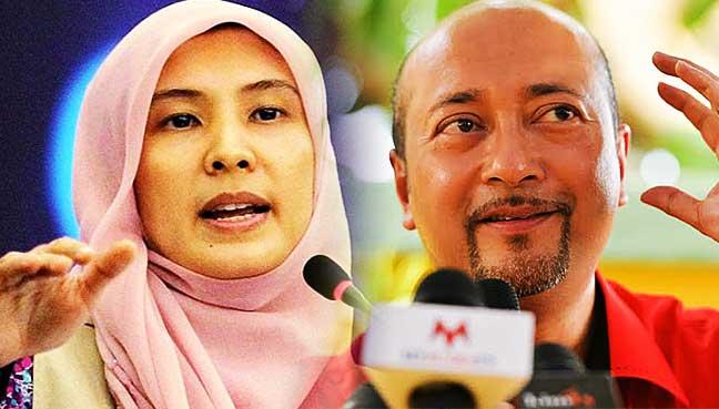 Nurul Izzah and Mukhriz Mahathir.