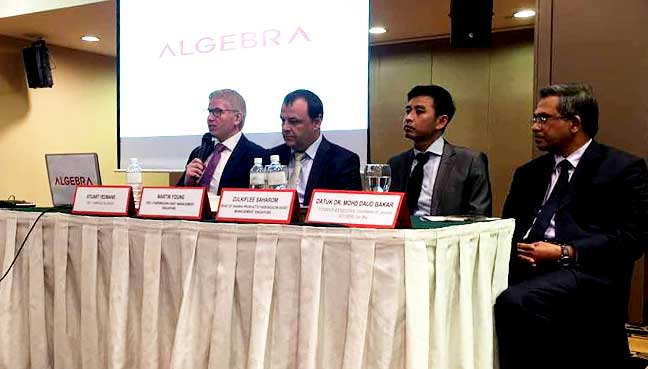 Farringdon Group launch and pc of Algebra, Malaysia's first sharia compliant investment robo advisor.