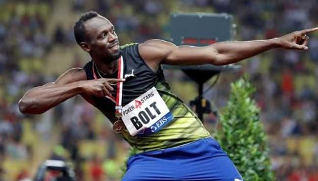 And it's not Usain Bolt