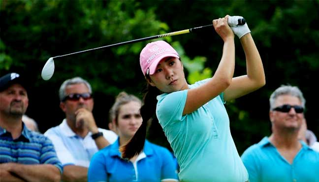 Piller leads; Lexi, Nelly Korda one back