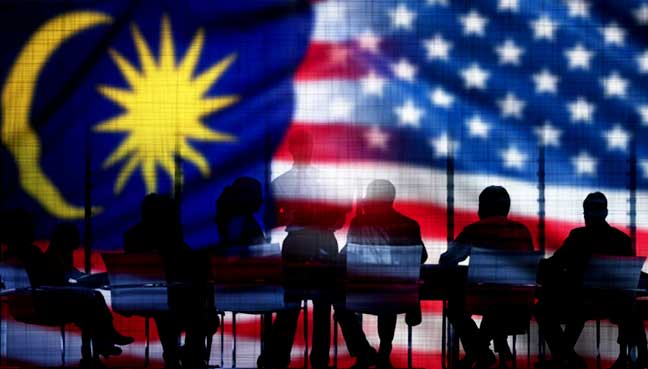 united states malaysia trade Canada and the united states are the two most isolated countries in the the tpp is a free-trade agreement currently being singapore, peru, malaysia.