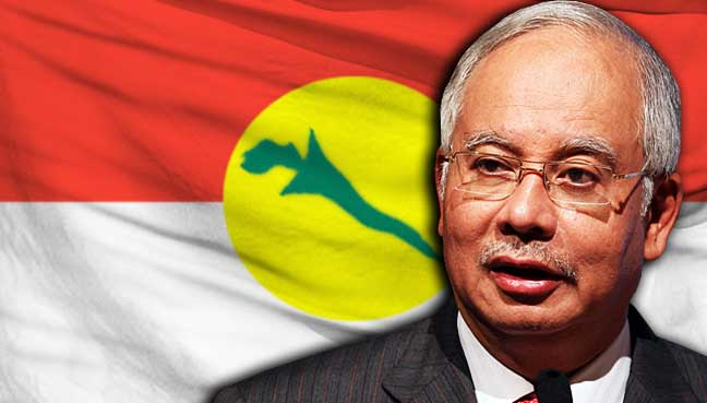 najib-razak-bendera-umno-malaysia