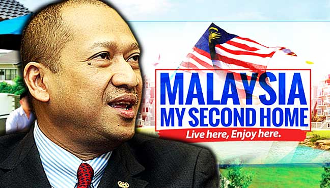 Nazri: More than 33000 foreigners have made Malaysia their second home