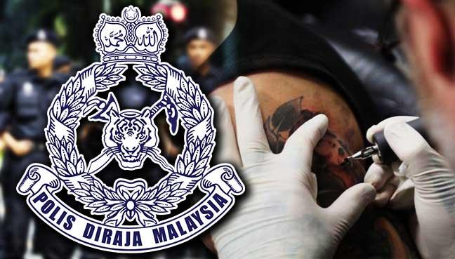 polis-malaysia-tattoo
