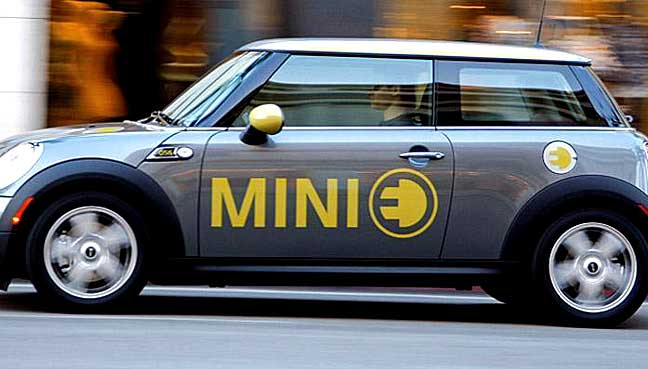 Fully electric Mini to be built in UK