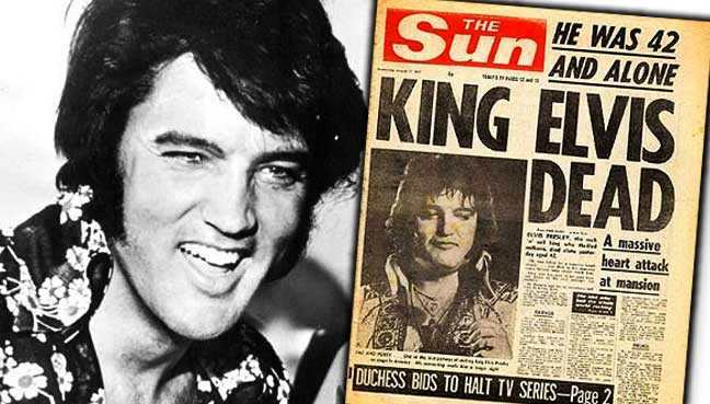 40 years ago, America shocked by death of Elvis | Free ...
