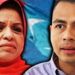 Fahmi-Fadzil-Shahrizat-Abdul-Jalil-pkr-bendera