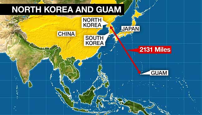Guam-North-Korea