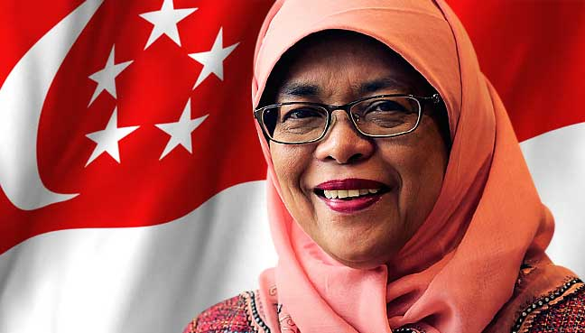 Image result for Halimah Yacob set to be Singapore's first female president