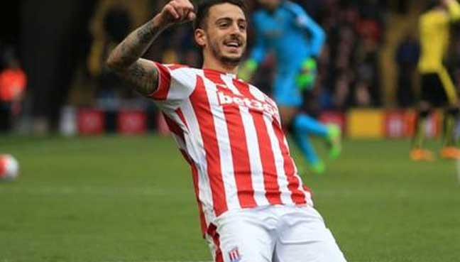Joselu scores a stunning goal at Newcastle's open day