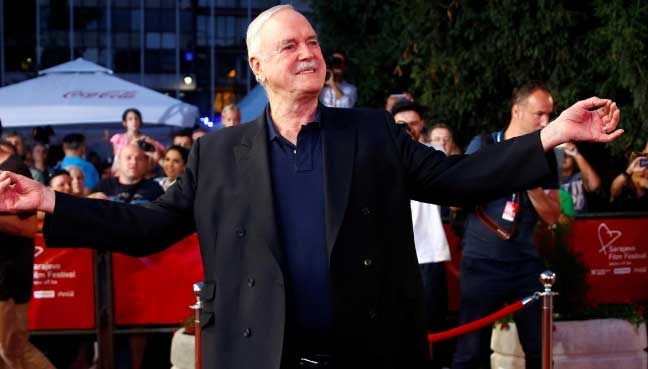 Actor John Cleese receives career award at Sarajevo Film ...