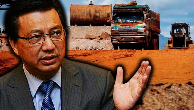 Liow: Licence will be pulled if no permit to transport bauxite
