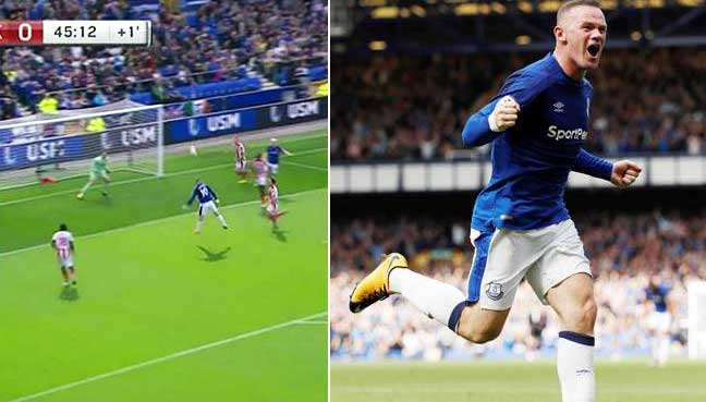 Rooney back with a bang for Everton