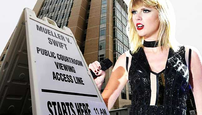 Taylor Swift appears in court for assault case against DJ
