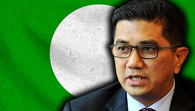 azmin-ali-bendera-pas-logo-malaysia